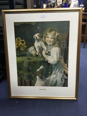 Lot 91 - A COLLECTION OF PAINTINGS, PRINTS AND PICTURE FRAMES