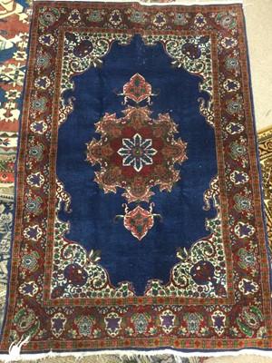 Lot 642 - A PERSIAN RUG