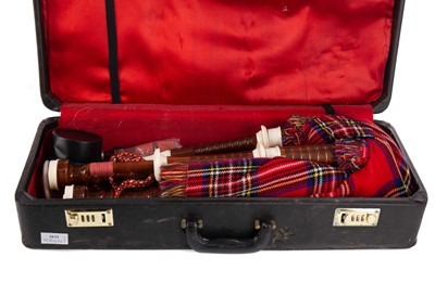Lot 1145 - A SET OF 20TH CENTURY BAGPIPES