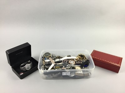 Lot 70 - A LOT OF FASHION WATCHES