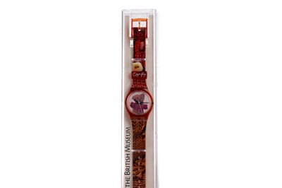 Lot 1737 - A GRAYSON PERRY FOR THE BRITISH MUSEUM 'ALAN MEASLES' WATCH