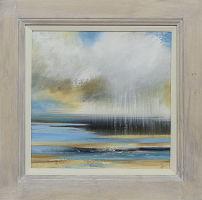 Lot 600 - TIDE INCOMING, AN OIL BY ROSANNE BARR