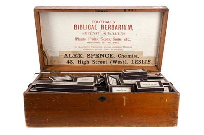 Lot 1146 - A LATE 19TH CENTURY SOUTHALL'S BIBLICAL HERBARIUM