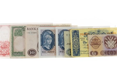 Lot 20 - A COLLECTION OF GB BANKNOTES