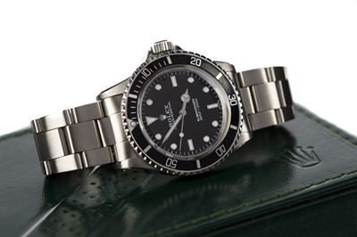 Lot 740 - A ROLEX 'COMEX' SUBMARINER STAINLESS STEEL AUTOMATIC WRIST WATCH