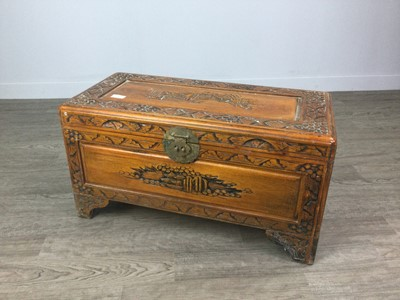 Lot 631 - A 20TH CENTURY CHINESE BLANKET CHEST