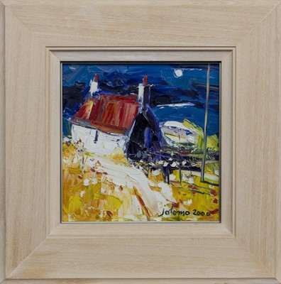 Lot 512 - IONA COTTAGE, AN OIL BY JOLOMO