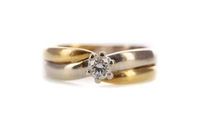 Lot 356 - A DIAMOND SOLITAIRE RING