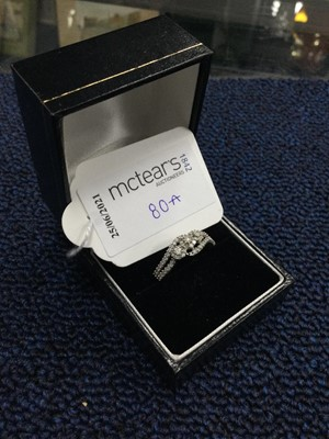Lot 80A - A DIAMOND RING