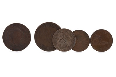 Lot 24 - A COLLECTION OF MAINLY IRISH COINS