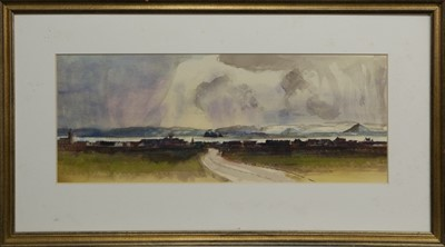 Lot 639 - DUMBARTON, A WATERCOLOUR BY TOM HOVELL SHANKS