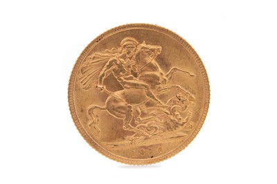Lot 26 - A GEORGE V GOLD SOVEREIGN DATED 1914