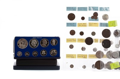 Lot 30 - A COLLECTION OF COIN SETS AND OTHER COINS