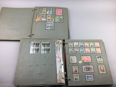 Lot 20 - A LOT OF TWO STAMP ALBUMS
