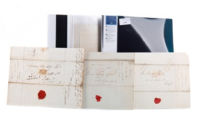 Lot 1306 - A COLLECTION OF LETTERS RELATING TO SHIPPING