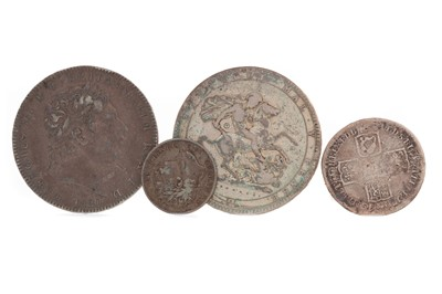 Lot 32 - A COLLECTION OF GEORGE II (1727 - 1760) AND GEORGE III (1760 - 1820) COINS