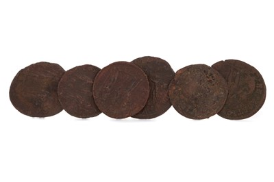 Lot 34 - A COLLECTION OF ROMAN COINS