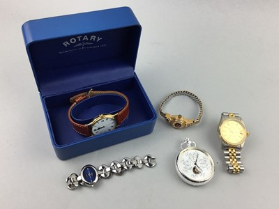 Lot 27 - A LOT OF COSTUME AND OTHER WATCHES