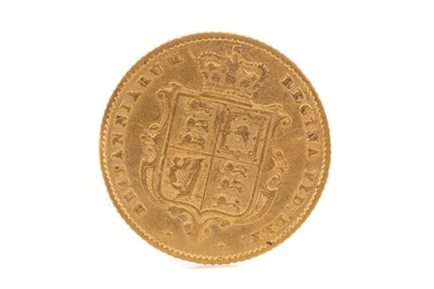 Lot 35 - A VICTORIA GOLD HALF SOVEREIGN DATED 1853