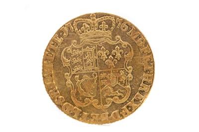 Lot 36 - A GEORGE III GOLD GUINEA DATED 1776
