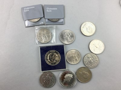 Lot 39 - A COLLECTION OF COMMEMORATIVE CROWNS