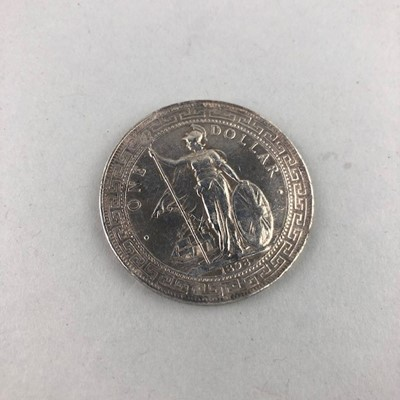 Lot 45 - A GREAT BRITAIN SILVER TRADE DOLLAR DATED 1898