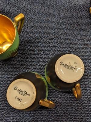 Lot 1007 - ART DECO CARLTON WARE COFFEE SERVICE