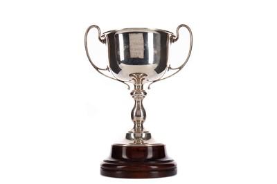 Lot 1730 - A GEORGE V SILVER BHOPAL YACHT CLUB TROPHY CUP