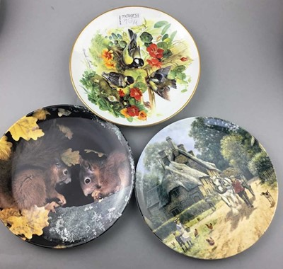 Lot 90 - A COLLECTION OF CABINET PLATES