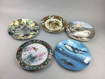 Lot 94 - A COLLECTION OF CABINET PLATES