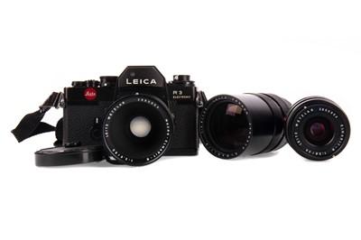 Lot 1150 - A LEITZ LEICA R3 ELECTRONIC CAMERA