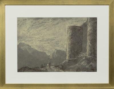 Lot 133 - DON QUIXOTE AND SANCHO PANZA, A PASTEL BY JOHN BULLOCH SOUTER