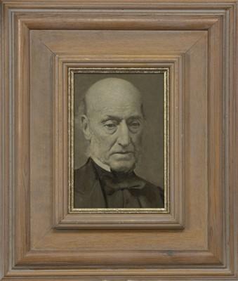 Lot 135 - PORTRAIT - AN ABERDEEN MINISTER, AN OIL BY JOHN BULLOCH SOUTER