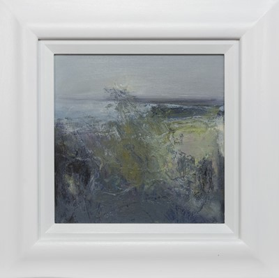 Lot 764 - ROLLERCOASTER SEA, HEBRIDES, AN OIL BY MAY BYRNE