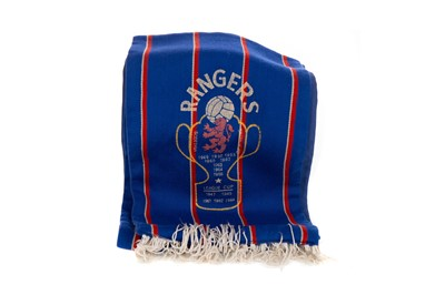 Lot 1717 - A 1960s RANGERS F.C SCARF