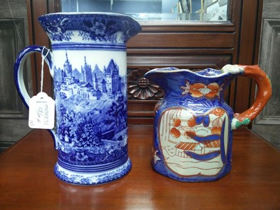 Lot 94A - A ROYAL DOULTON JUG AND ANOTHER