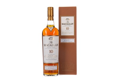 Lot 39 - MACALLAN 10 YEARS OLD FIRST 100 BOTTLINGS