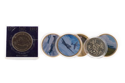 Lot 43 - A COLLECTION OF COMMEMORATIVE AND OTHER COINS