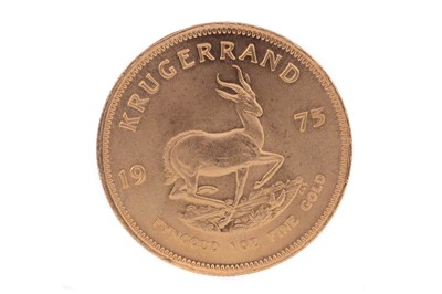 Lot 56 - A GOLD KRUGERRAND DATED 1975
