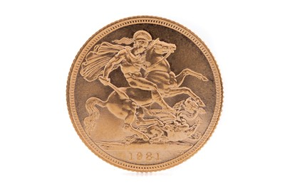 Lot 73 - AN ELIZABETH II GOLD SOVEREIGN DATED 1981