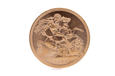 Lot 75 - AN ELIZABETH II GOLD SOVEREIGN DATED 1981