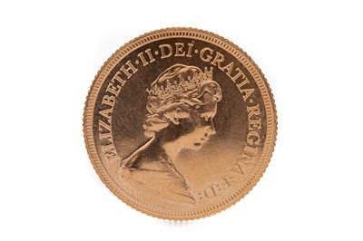 Lot 77 - AN ELIZABETH II GOLD SOVEREIGN DATED 1981