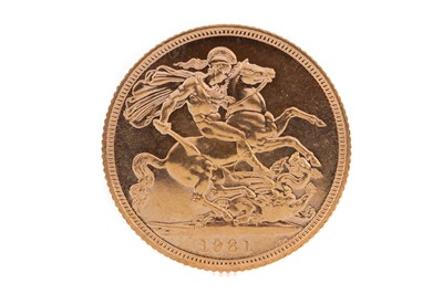 Lot 82 - AN ELIZABETH II GOLD SOVEREIGN DATED 1981