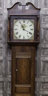 Lot 1154 - AN EARLY 19TH CENTURY LONGCASE CLOCK