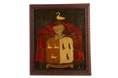Lot 1429 - FOLK ART ATTWATER MEMORIAL CREST
