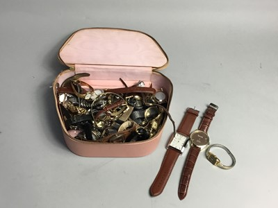 Lot 59 - A GROUP OF LADY'S AND GENTLEMEN'S DRESS WATCHES