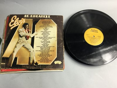 Lot 5 - A COLLECTION OF LP RECORDS