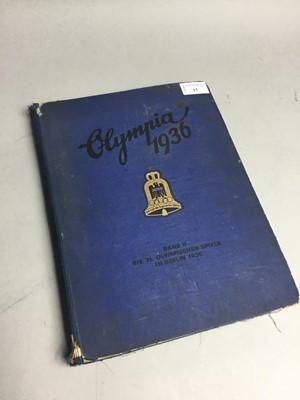 Lot 15 - A DIE OLYMPISCHEN-SPIELE 1936 BOOK