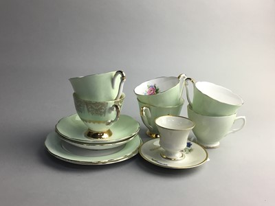 Lot 13 - A QUEEN ANNE BONE CHINA PART TEA SERVICE AND OTHER TEA WARE