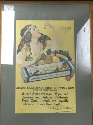 Lot 81 - A SPIN-GOLF ADVERTISEMENT SIGN AND ANOTHER SIGN